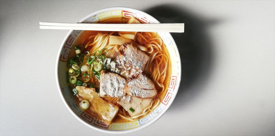 人気の、美味しい「中華そば」・・京都市、篠田屋