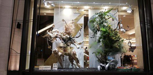 阪急百貨店うめだ本店ショーウィンドウにて2020/01/11撮影~6